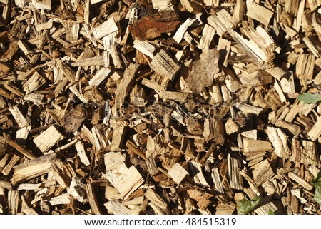 brown bark mulch for floors and ways