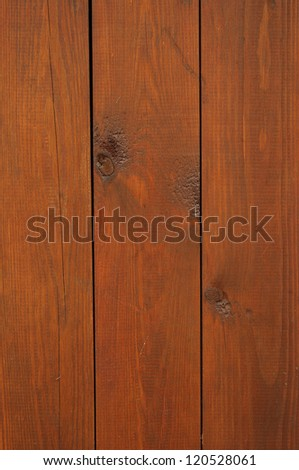 Brown boards background - stock photo