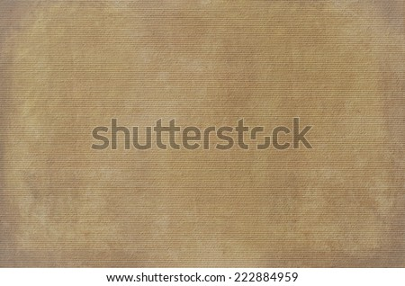 brown canvas texture. Pattern - stock photo