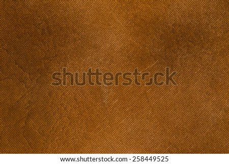 Brown canvas vintage background. - stock photo
