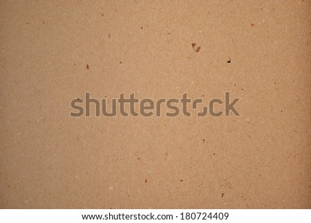 Brown carboard material texture horizontal  - stock photo