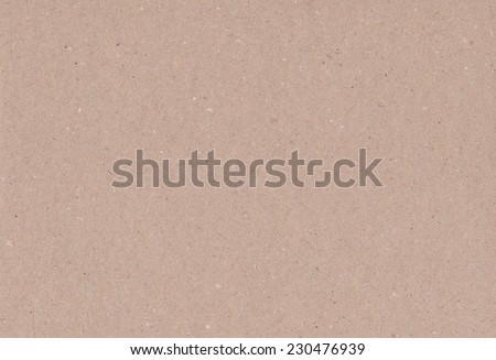 Brown cardboard texture closeup, natural rough textured paper background - stock photo
