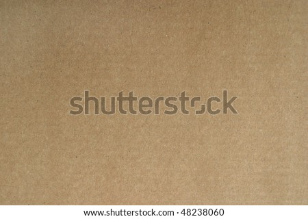 Brown carton paper grunge background - stock photo