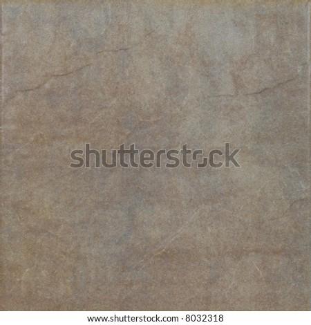 Brown ceramic tile - stock photo