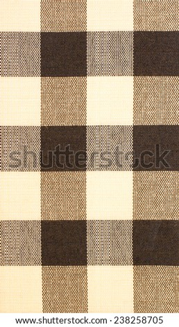 Brown Cloth Background - stock photo