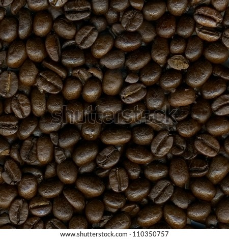 Brown coffee, Background texture, close-up for design