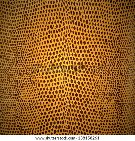 brown color of dot leather