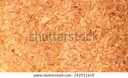 brown cork structure texture background - stock photo