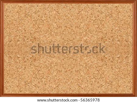 brown cork texture, background - stock photo