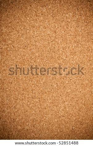 Brown cork texture. Close up. - stock photo