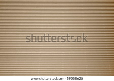 brown corrugated cardboard with background - stock photo