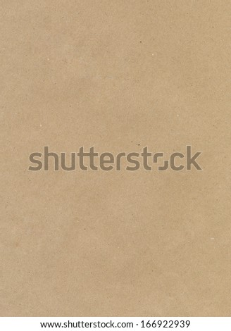 Brown craft paper texture  - stock photo