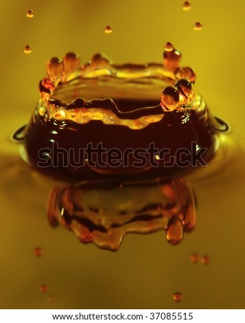 Brown Crown - stock photo