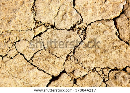 brown dry sand in sahara desert morocco africa erosion and abstract - stock photo