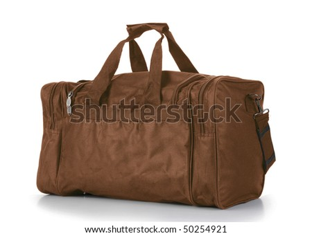 Brown Duffel Bag