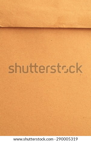 Brown Envelope document close up - stock photo