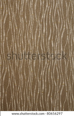 Brown fabric texture wave style - stock photo