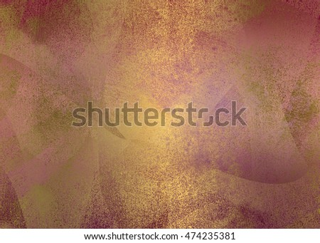 Brown golden abstract   background , with   painted  grunge background texture for  design .