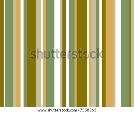 Brown, green and orange striped background