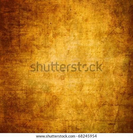 Brown grunge background - stock photo