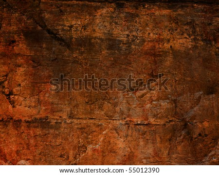 Brown grunge stone background