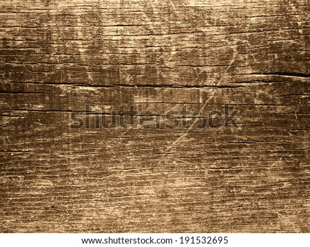 Brown grungy wood for background or texture - stock photo