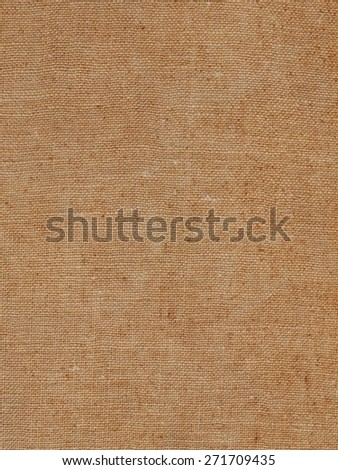 Brown hessian burlap texture useful as a background - stock photo