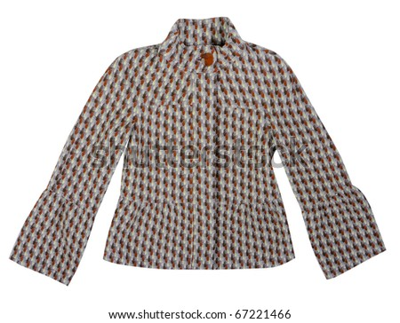 brown jacket - stock photo