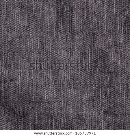 brown jeans fabric texture - stock photo