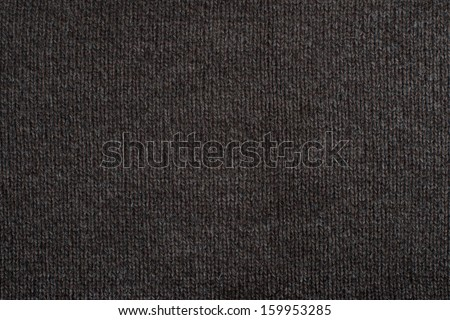Brown knitting wool texture background. - stock photo