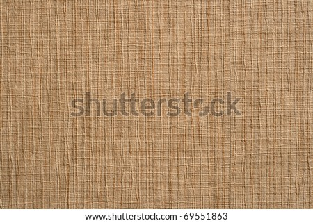 Brown kraft  paper. Corrugated cardboard box. background - stock photo