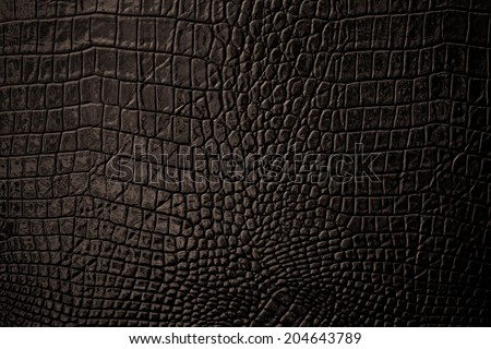 Brown Leather background and texture - stock photo