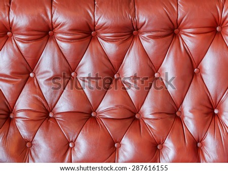 brown leather background and textures - stock photo