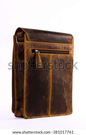 brown leather bags for executives to carry important documents,laptop, papers,diary
