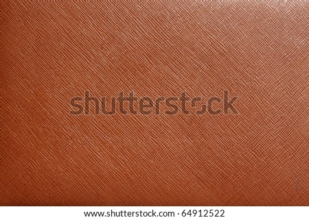 brown leather for background - stock photo