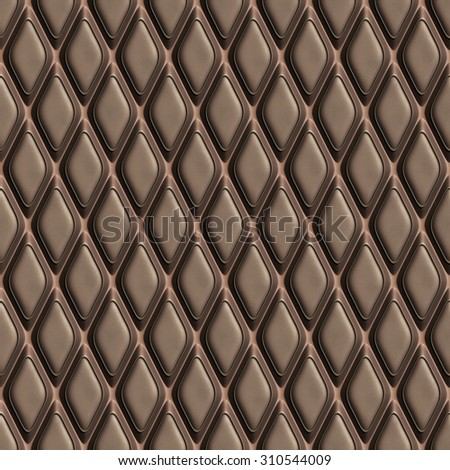 brown leather seamless tileable decorative background pattern