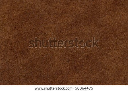 brown leather texture - stock photo