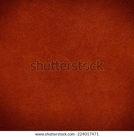 Brown leather texture background  - stock photo