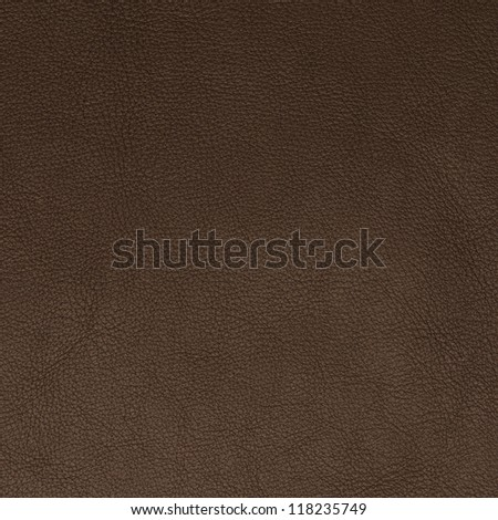 Brown leather texture closeup backgroud. - stock photo