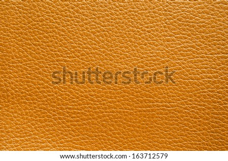 Brown leather texture closeup, can be used for background - stock photo