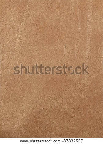 brown leather texture closeup for background and design works