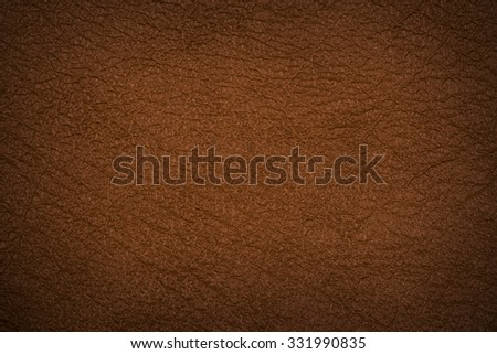 brown leather texture (may used as background).