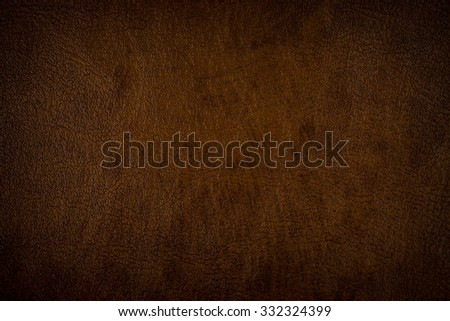 brown leather texture (may used as background). - stock photo