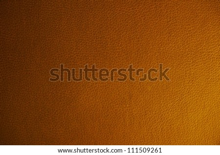 Brown leather texture or background - stock photo