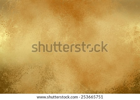 Brown light golden abstract   background , with   painted  grunge background texture for  design .  - stock photo