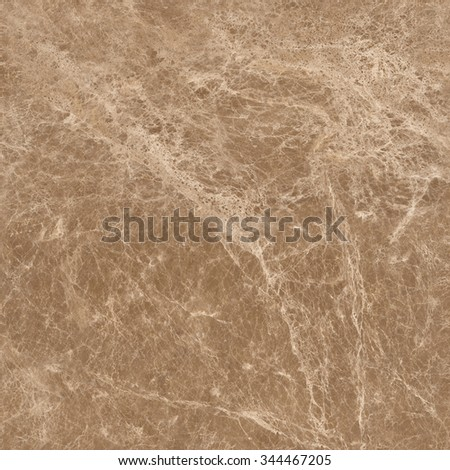 Brown marble natural stone texture background. Approximately 2 by 2 foot area. - stock photo