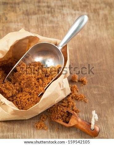 Brown Mascovado Sugar - stock photo