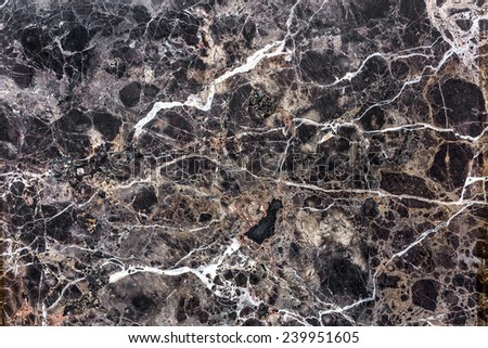 Brown natural marble . Beautiful multi-colored interior decorative stone marble abstract cracks and stains on the surface.