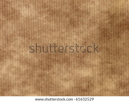 brown paper background with stripes - stock photo