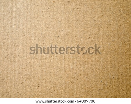 Brown paper card board for web background - stock photo